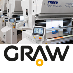 TRESU Flexo Innovator press for the folding carton packaging market to be represented in Poland by GRAW